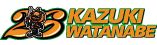 Logo Kazuki Watanabe