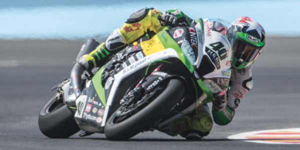 Roman is 12th at the debut in Argentina, well also the Supersport.