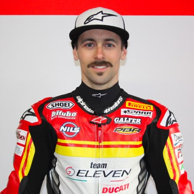 Rider Eugene Laverty