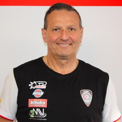Mechanic Chief Alberto Tenedini