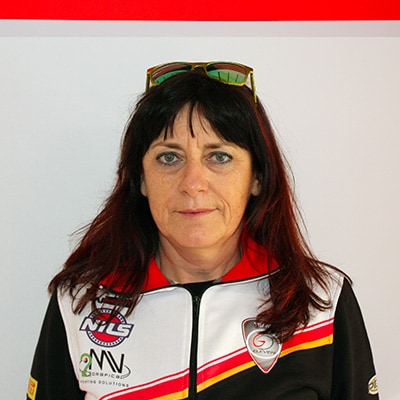 Hospitality Coordinator and Team Owner Luciana Fornaseri