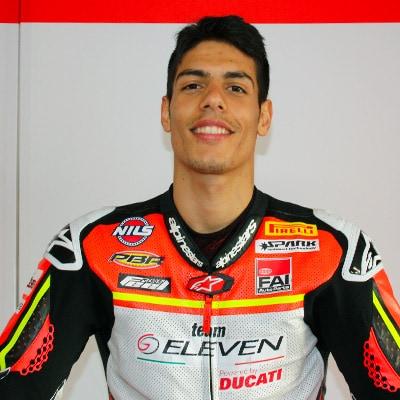 Rider Michael Ruben Rinaldi