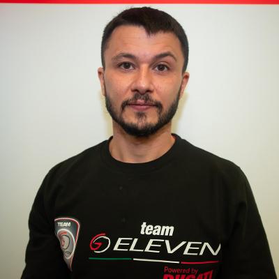 Mechanic Chief Stefano Favalini