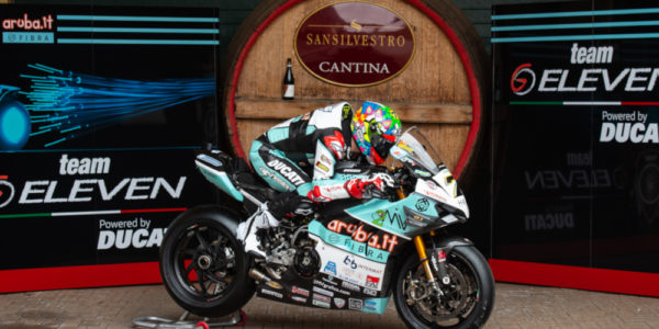 """CHAZ DAVIES AND GO ELEVEN ARE READY FOR THE FIRST """"TWO DAYS"""" OF TEST AT MONTMELO'!"""