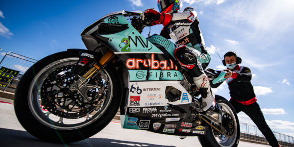 CHAZ DAVIESCONCLUDES FIRST DAY AT THE TOP AT MOTORLAND ARAGON!