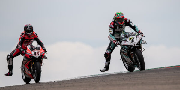 """A """"FIGHTER""""CHAZ DAVIES IN RACE 1, HE ENDS CLOSE TO THE PODIUM!"""