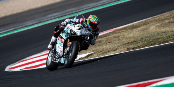 CHAZ IS BACK ON TOP AT MAGNY-COURS!
